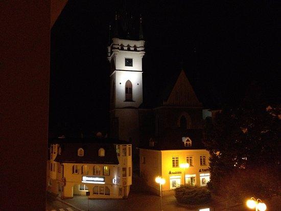 Humpolec, Tschechien: vue de la chambre