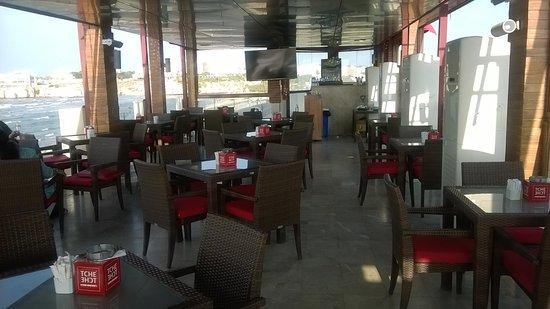 Tche tche cafe maskat restaurant bewertungen for Terrace seating