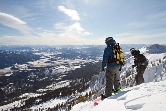 Yellowstone National Park, WY: Downhill fun at Bridger Bowl
