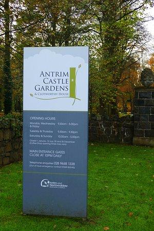 Antrim, UK: Entrance Information.