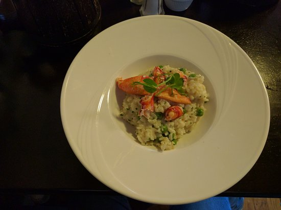 Strangford, UK: Risotto con astice