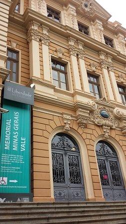 Memorial Minas Gerais - Vale : Fachada do Museu