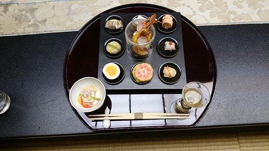 Saryo Sunano Sumika: 前菜