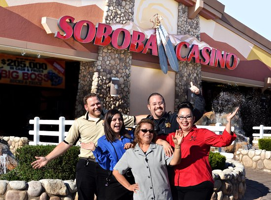 San Jacinto, Kalifornia: Soboba Casino is the friendly local place to play!