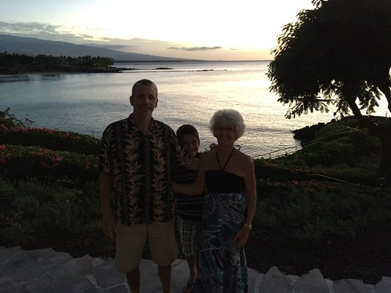 Taken On The Patio Of Madeira The Restaurant St The Mauna