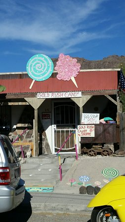 Oatman, AZ: Good old candy store.
