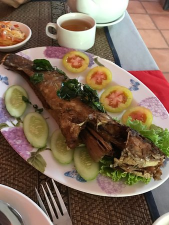 krousar khmer restaurant fried river fish
