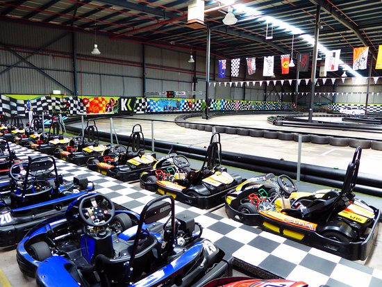 Chirnside Park, Australia: Our state-of-the-art Sodi karts