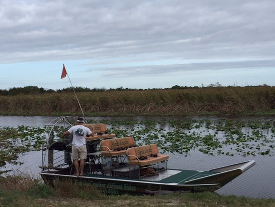 Captain Lawrence Picture Of Florida Cracker Airboat Rides