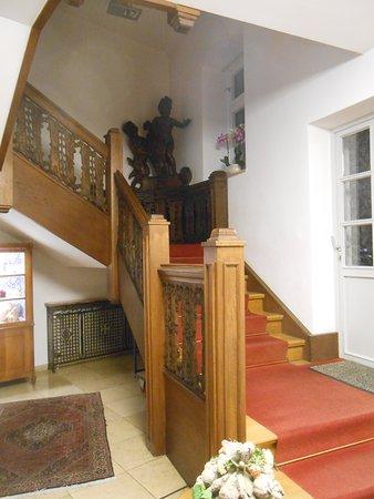 Barock Hotel am Dom: Escalera