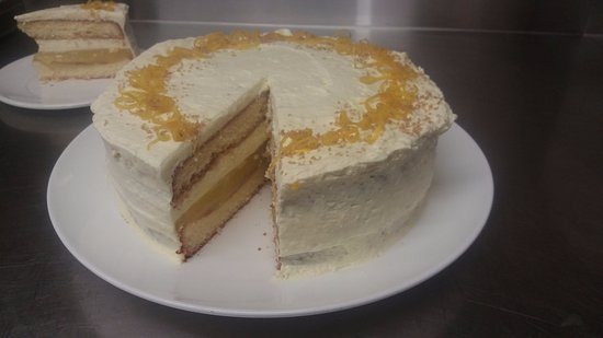 Saint Arnaud, นิวซีแลนด์: Lemon Torte