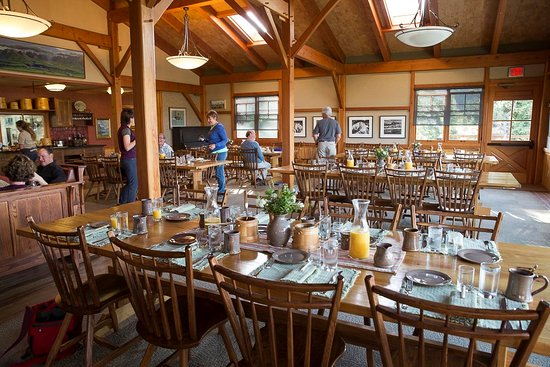 Camp Denali: Main Lodge Dining Room