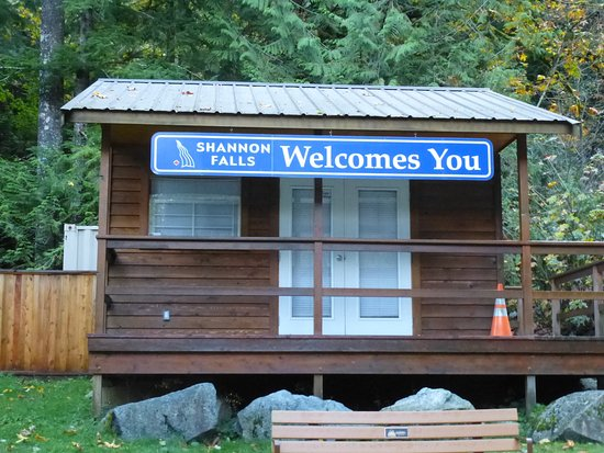 Squamish, Canada: The welcome cabin.