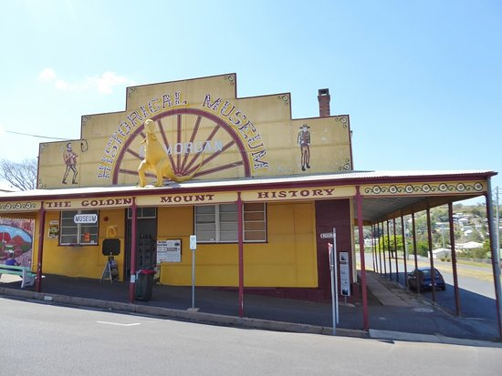 Mount Morgan, Australia: Museum building