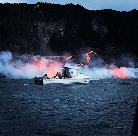Isaac Hale Park Lava Boat Tour