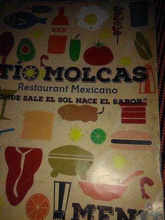 Tío Molcas: Su carta muy colorida