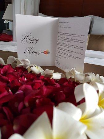 The Kayana Bali: Honeymoon setup