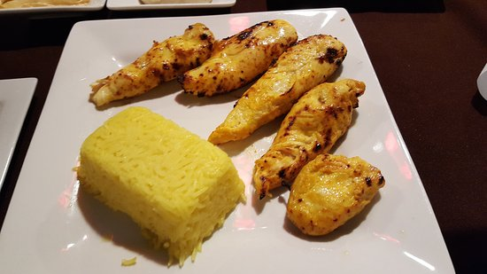 Cottonwood, AZ: Chicken Kebabs with Saffron Rice
