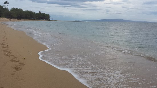 Maui Schooner Resort: beach at the condo