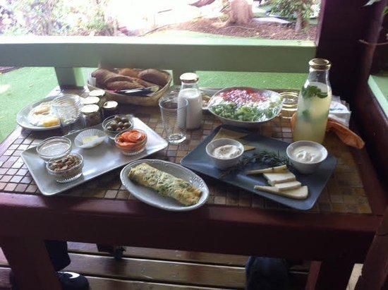 Golan Heights: ארוחת הבוקר המדהימה