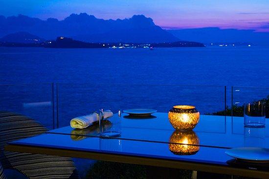 Terrazza vista Procida e Ischia - Foto di CARACOL Gourmet, Bacoli ...