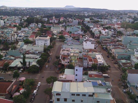 Pleiku, Vietnam: View from a single room on the 18th floor