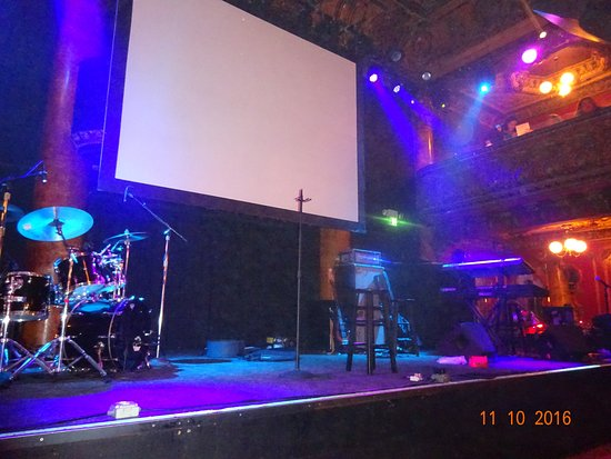 Great American Music Hall: The stage