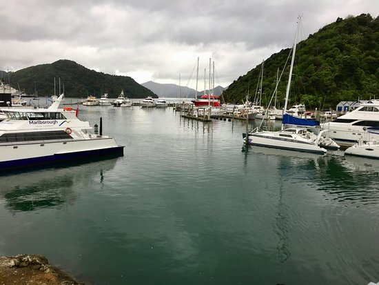 Kippilaw House: Picton harbour.