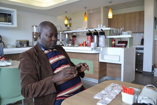 SUN1 Milnerton: It was interesting to learn that each teas had it own inspiring setence, so my friend a picture