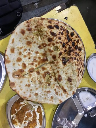see the size of naan loved it we ordered mix naan. Black Bedroom Furniture Sets. Home Design Ideas