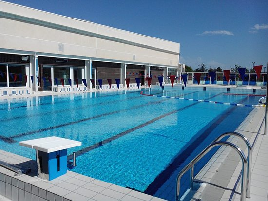 Peyriac-Minervois, France: bassin sportif