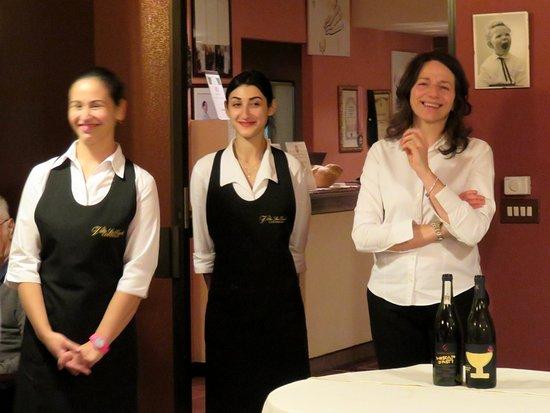 Villa San Carlo Hotel: Paola Zari and staff