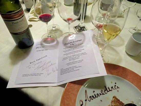 Villa San Carlo Hotel: High cuisine and fine wines