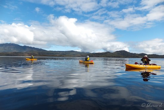New Norfolk, Austrália: Kayaking on Lake Pedder