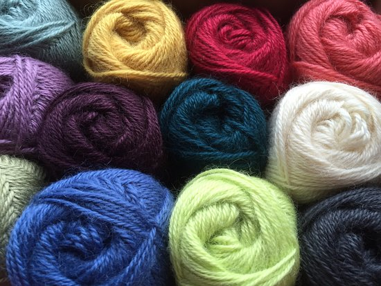 Leyburn, UK: Yarn