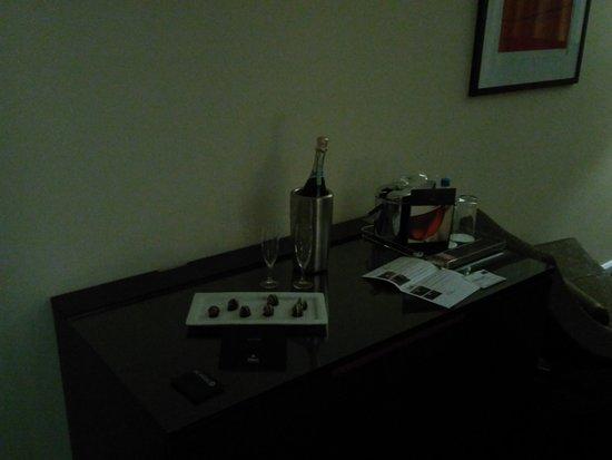 倫敦金絲雀碼頭希爾頓酒店張圖片