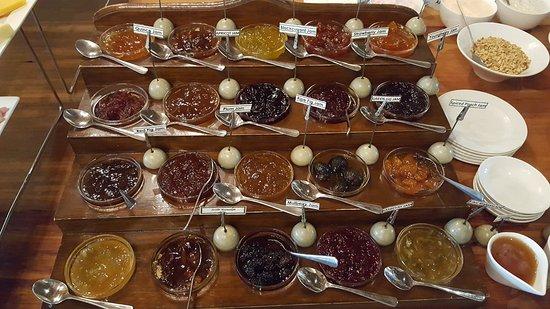 Addo, Sudáfrica: Marmeladenauswahl, sensationell