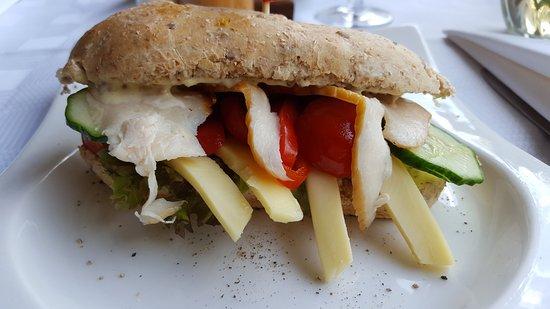 Addo, جنوب أفريقيا: Sandwich zum Lunch