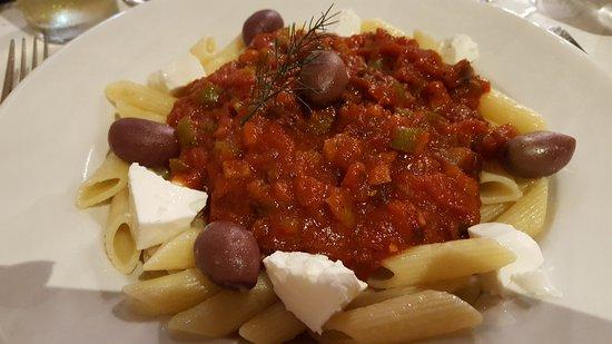 Addo, Zuid-Afrika: Nudeln mit Tomatensosse, naja...