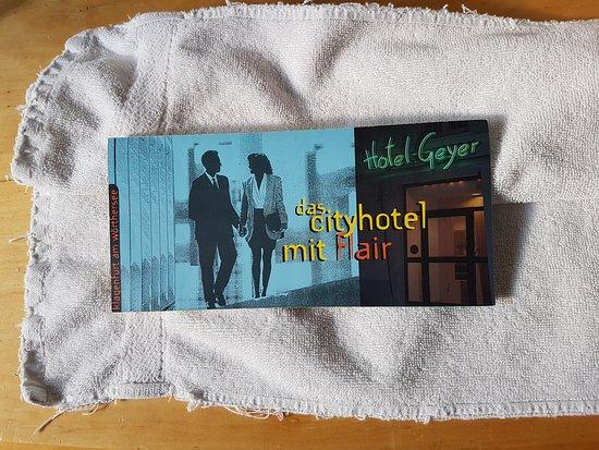 """Hotel Geyer: So ist der Spruch """"das Cityhotel mir Flair"""" also zu verstehen ..."""