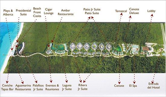 Blue Diamond Luxury Boutique Hotel : Map/Lageplan