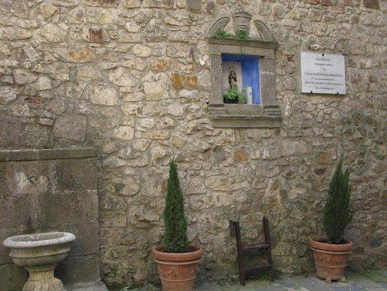 Arcidosso, Ιταλία: Piccolo altare votivo
