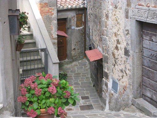Arcidosso, Ιταλία: Verso la Chiesa di Sant'Andrea