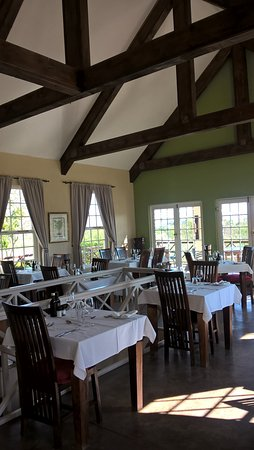 The Rosendal Restaurant Dining Room Upstairs From Winery