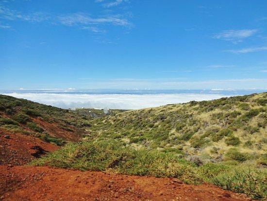 Caldera de Taburiente National Park: Über den Wolken, unter dem Sonnenhimmel