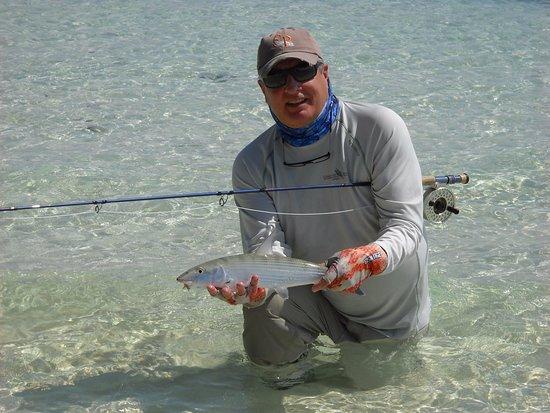 Tarpon Caye Belize: bonefish Tarpon Caye