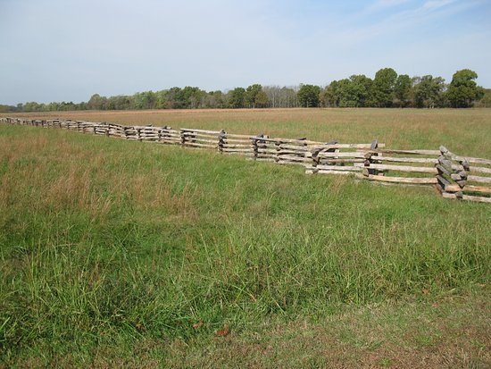 ‪‪Garfield‬, أركنساس: rail fences at Pea Ridge Battlefield‬