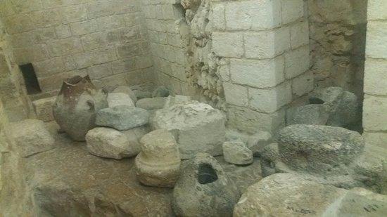 Kfar Cana, Israel: Utensílios domésticos da época de Jesus