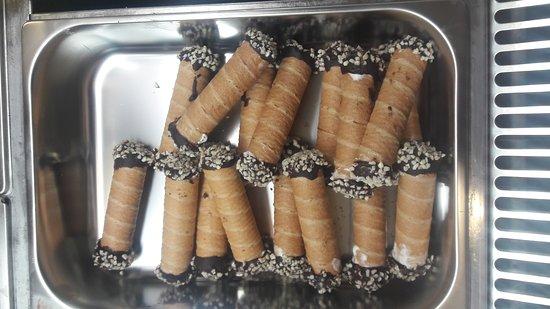 Biscotti di gelato artigianali