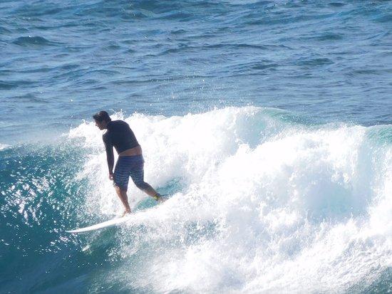 Paia, HI: Riding the wave